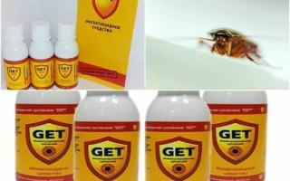 Get от тараканов: обзор средства, инструкция