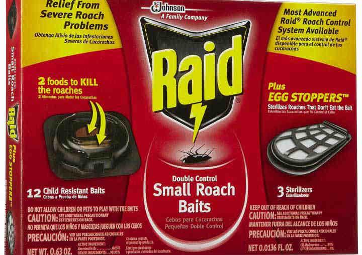 Рейд от тараканов ловушки