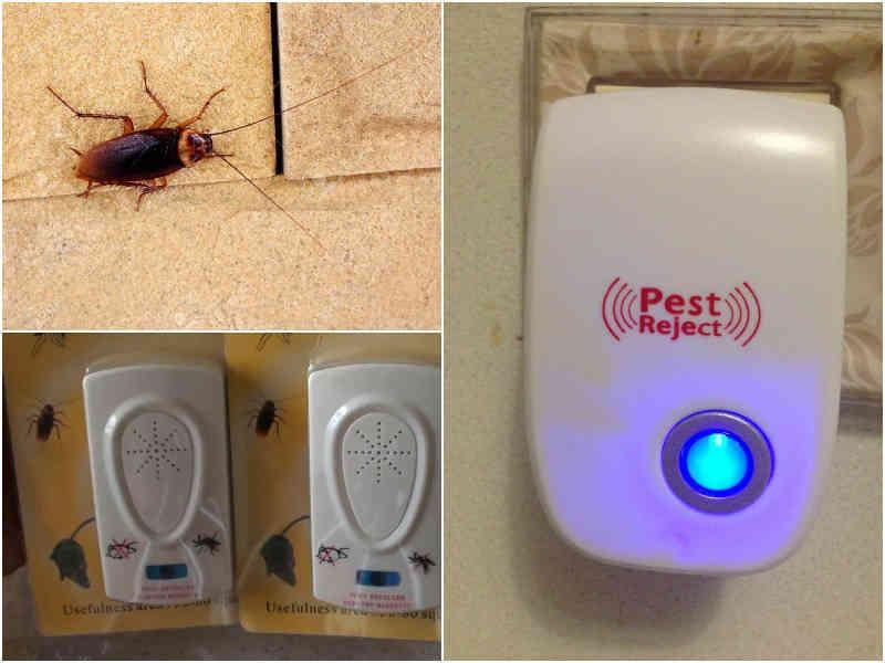 Ультразвуковой отпугиватель от тараканов