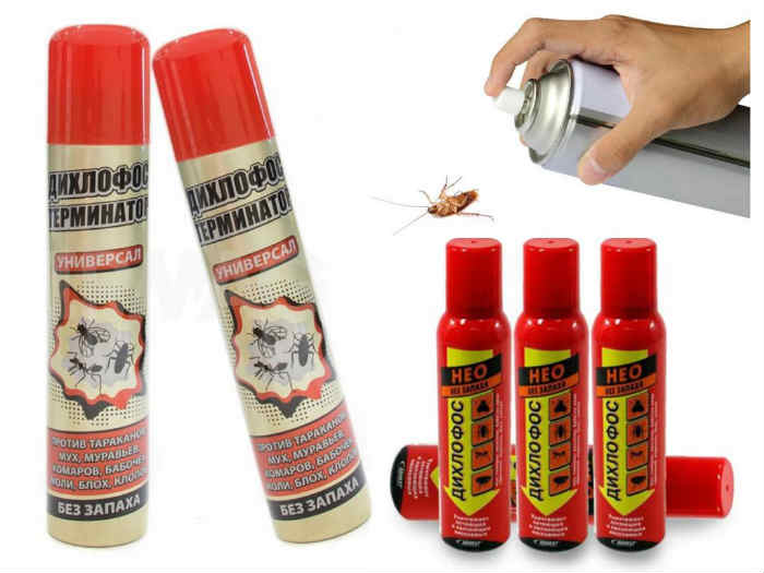 дихлофос от тараканов применение и подготовка