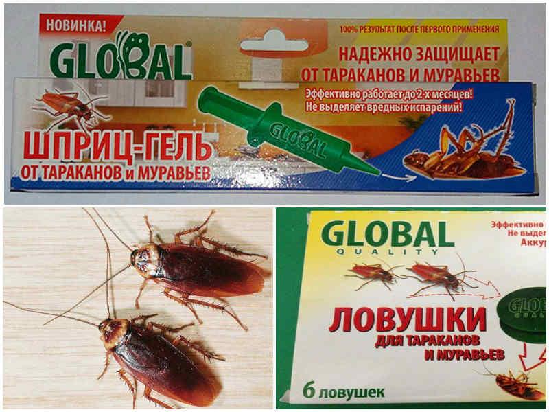глобал от тараканов инструкция