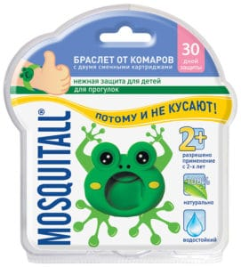 браслет от комаров Mosquitall