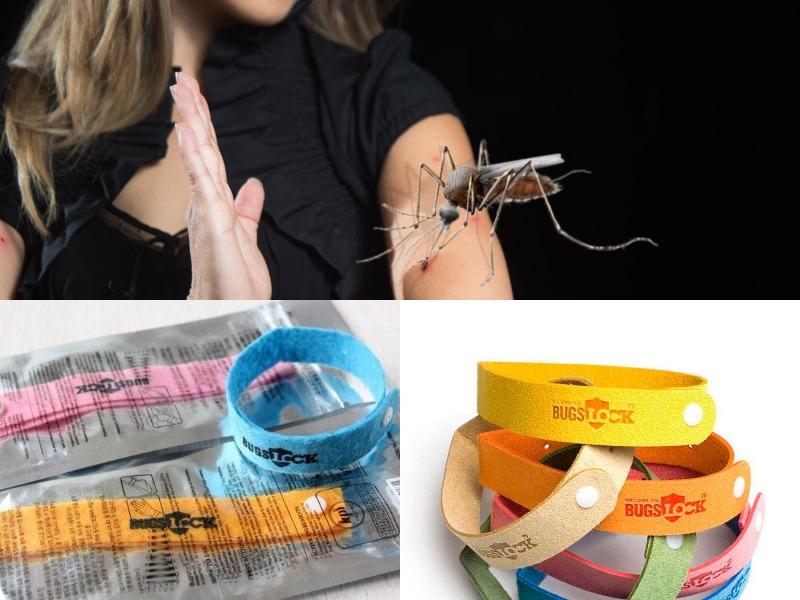 браслет от комаров для защиты