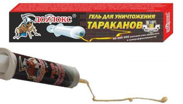 дохлокс гель от тараканов правила применения