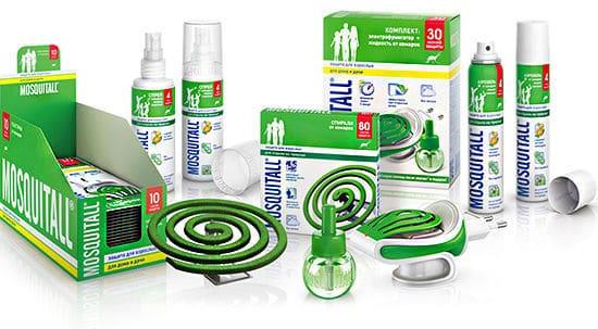 эффективная защита от комаров химические препараты