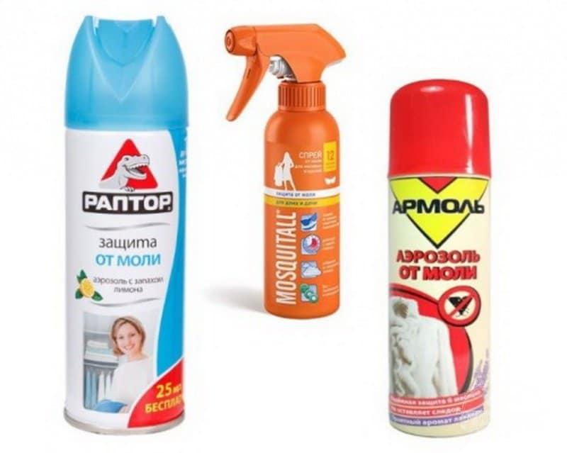 инсектициды против личинок моли
