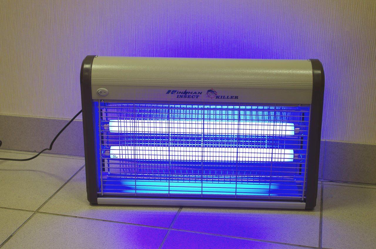 лампа от комаров ультрафиолетовая