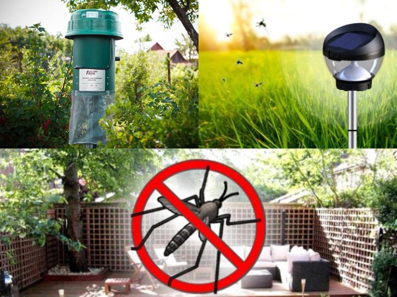 обработка участка от комаров и защита специальными приспособлениями