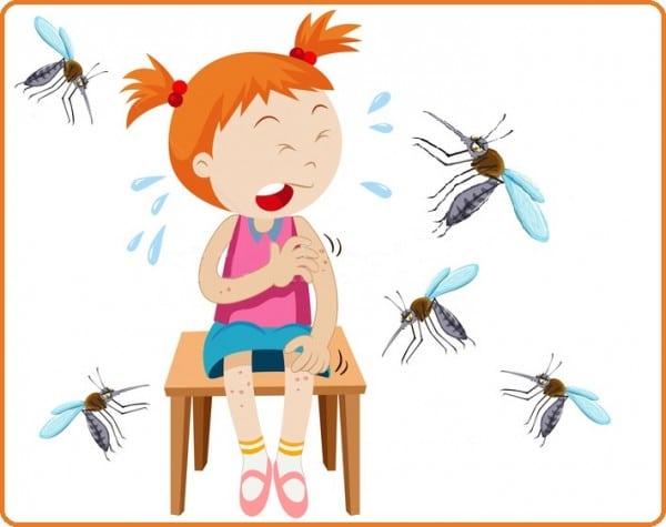 почему кусают комары на даче
