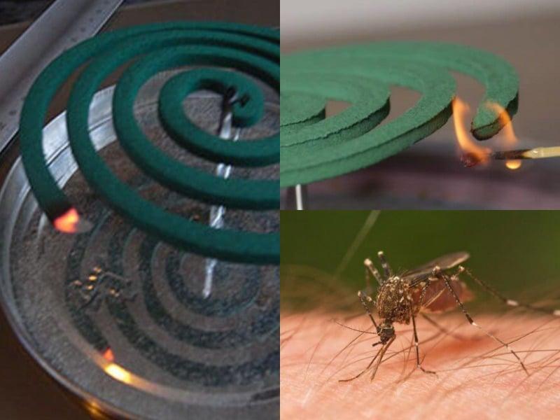 спираль от комаров правила использования