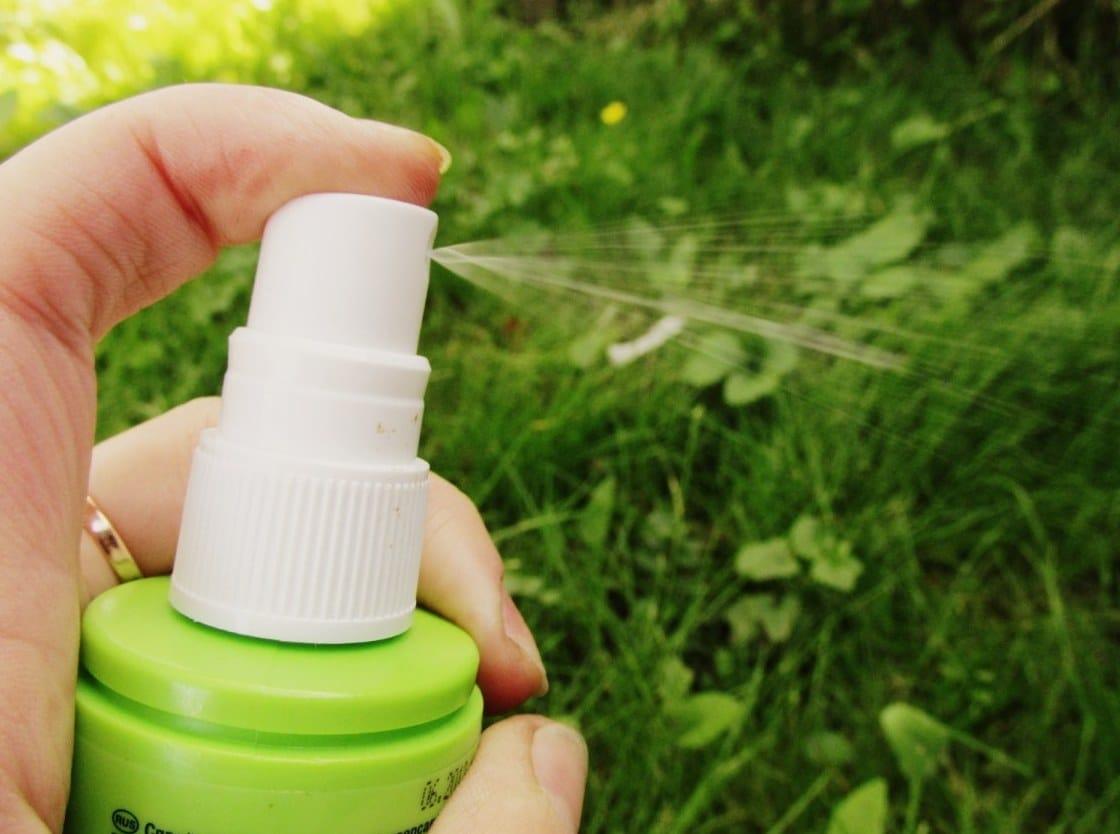 спрей от комаров офф