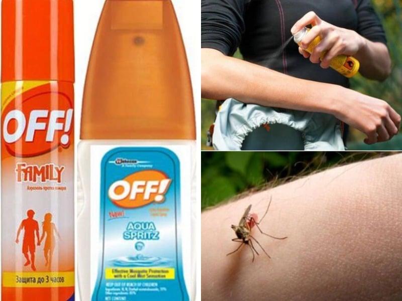 спрей от комаров правила использования