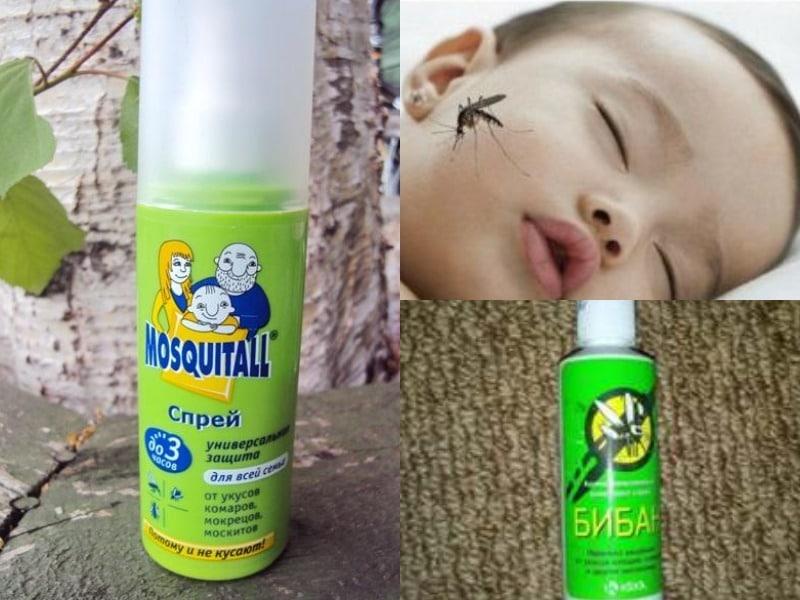 спрей от комаров состав
