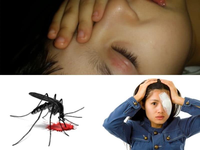 укусил комар в глаз ребенка причины
